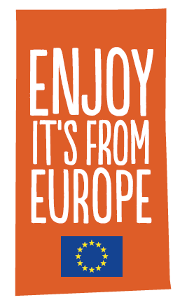 Enjoy it's from Europe logo
